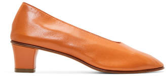 Martiniano Orange High Glove Heels