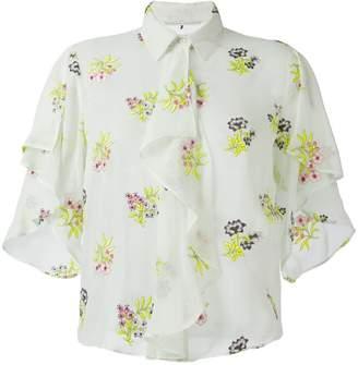 Marco De Vincenzo floral embroidery shirt