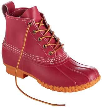 "L.L. Bean Women's Small Batch 6"" L.L.Bean Boots, Cherry/Cherry/Guide Orange"