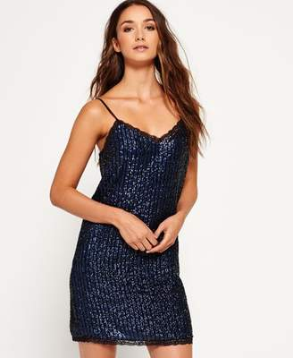 4cf524dd8b Superdry Premium Sequin Cami Dress