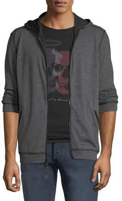 John Varvatos Men's Double-Knit Zip-Front Hoodie