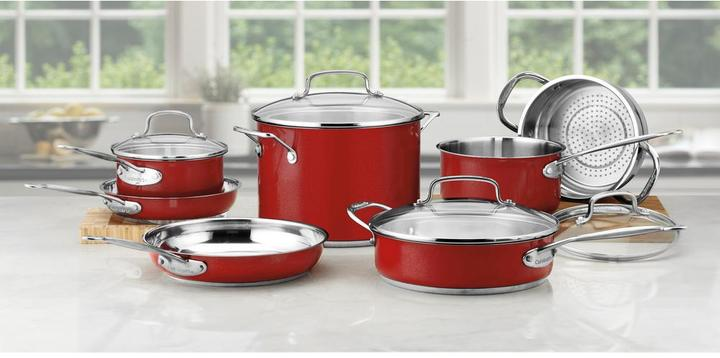 Cuisinart Chef's Classic 7-Piece Cookware Set in Stainless
