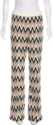 Giambattista Valli Pattern Wide-Leg Pants