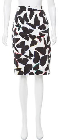 Kate Spade New York Butterfly Pencil Skirt w/ Tags