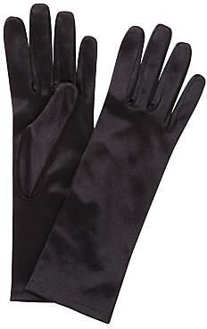 John Lewis & Partners Short Satin Evening Gloves, One Size