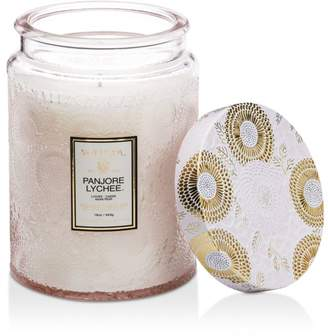 Voluspa Japonica Panjore Lychee Large Glass Candle