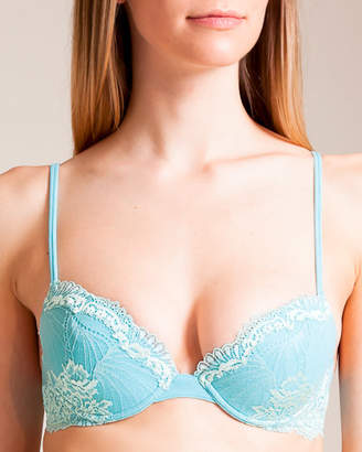 Cotton Club Peacock-Butterfly Agestis Push-Up Bra