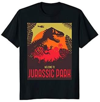 Jurassic Park Dinosaur Skeleton T-Shirt