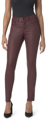 NYDJ Ami Coated Skinny Legging Jeans in Deep Currant