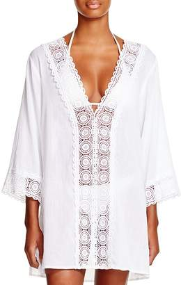 La Blanca Island Fare Tunic Swim Cover-Up $99 thestylecure.com