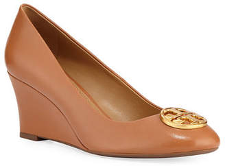 c4b9a6af0741 Tory Burch Chelsea Wedge Medallion Pump