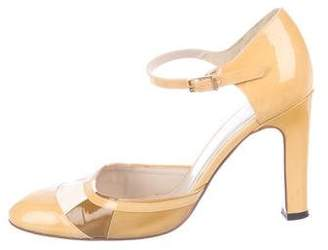 Chanel Patent Leather D'Orsay Pumps