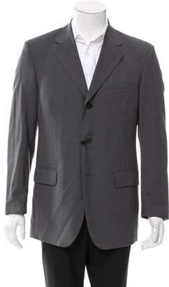 Saint Laurent Wool Three-Button Blazer w/ Tags
