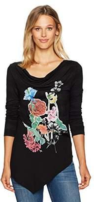 Desigual Women's Silvia Woman Knitted Long Sleeve T-Shirt