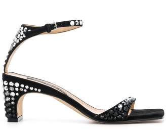 Sergio Rossi leather sandals