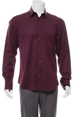 Gianni Versace Jacquard Dress Shirt