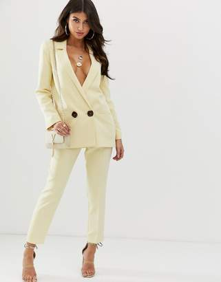 Asos Design DESIGN buttermilk slim suit pants