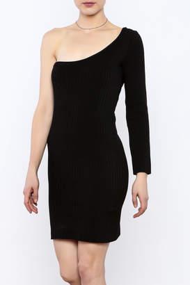 Cleo Black Knit Dress