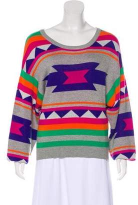 Joyrich Knit Patterned Sweater