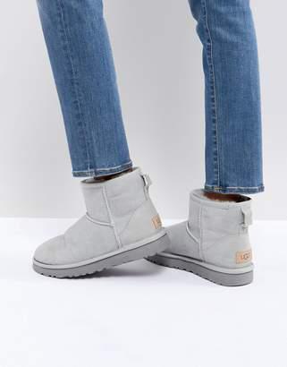 UGG Classic Mini II Gray Violet Boots