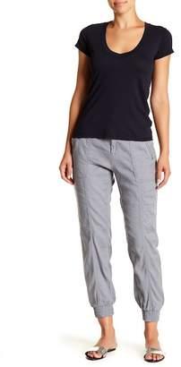 Splendid Linen Blend Zip Detail Pants