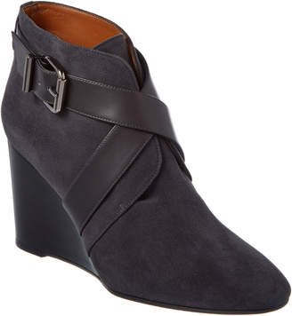 Aquatalia Tillie Waterproof Leather & Suede Bootie