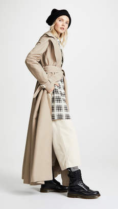 Marc Jacobs Redux Grunge Full Length Trench Coat