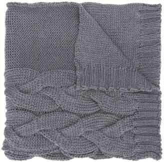 Semi-Couture Semicouture chunky knit scarf