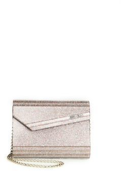 Jimmy Choo Jimmy Choo Candy Glitter Acrylic Convertible Clutch
