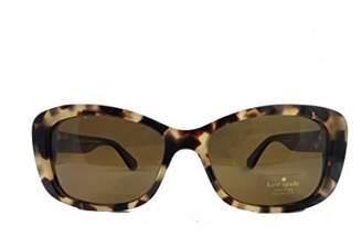 Kate Spade new york Women's Claretta/p/s Polarized Rectangular Sunglasses