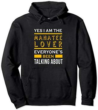 Yes I'm the manatee lover awesome funny hoodie