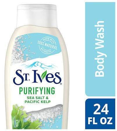 St. Ives Renew & Purify Body Wash Sea Salt and Kelp