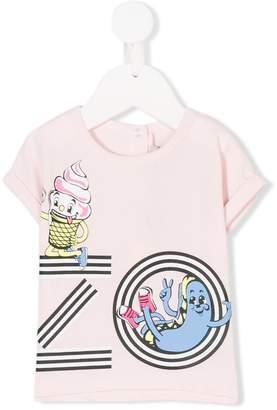 Kenzo ice cream print T-shirt
