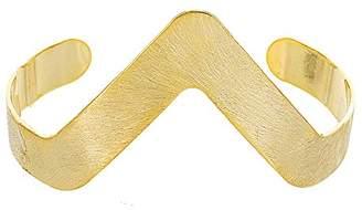Panacea Womens Scratch V Cuff Bracelet