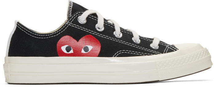 Comme des Garçons Play Black Converse Edition Chuck Taylor All-Star 70 Sneakers