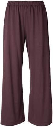 Aspesi flared cropped track pants