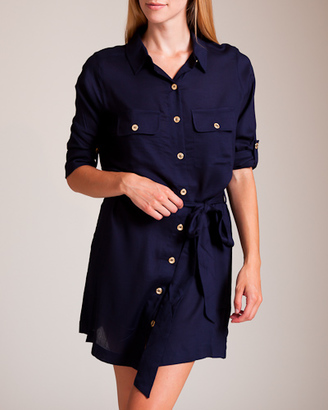 La Boheme Belted Shirt Dress $355 thestylecure.com