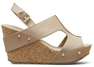 Kenneth Cole REACTION Women's Sole-O Wedge Sandal $79 thestylecure.com