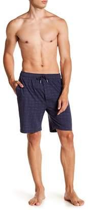 Lacoste Signature Print Knit Shorts