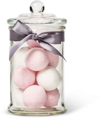 Tricoastal Design Tri-Coastal Design Vanilla Rose Glass Jar Bath Fizzers