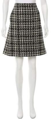 Max Mara 'S Wool Straight Skirt