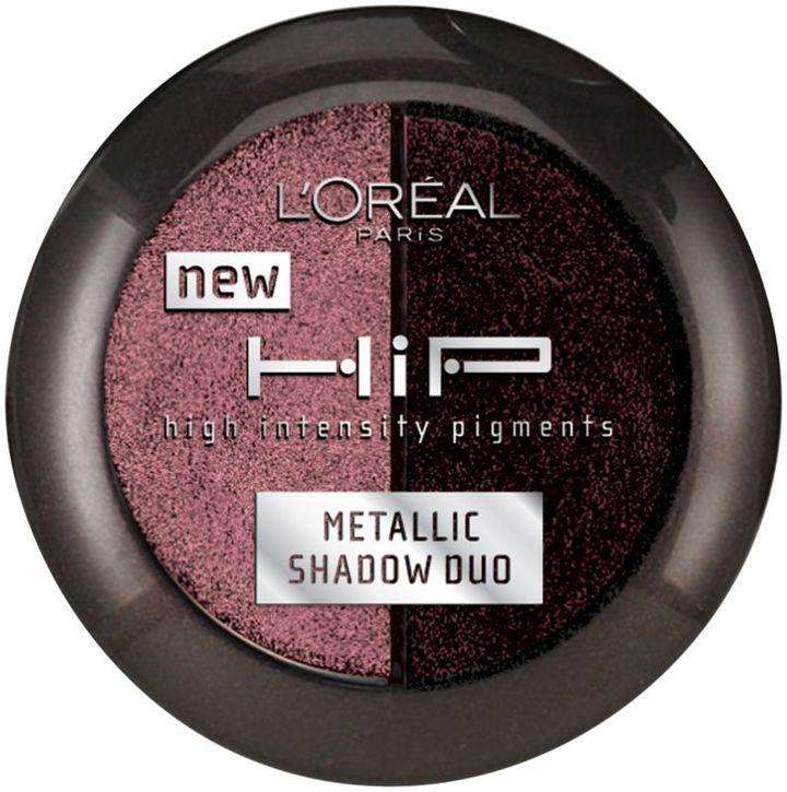 L'Oreal HiP Studio Secrets Professional Metallic Shadow Duo