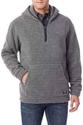 UNIONBAY Men's Turner Hooded Quarter-Zip Pullover