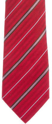 Brioni Brioni Silk Striped Tie