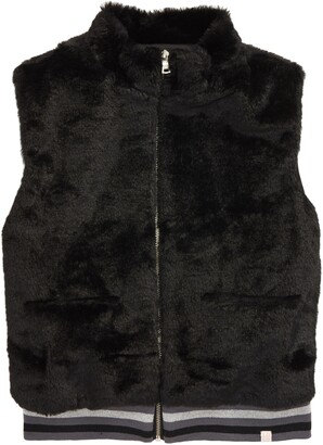 Sovereign Code Sharon Fuzzy Full Zip Vest