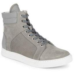 Kenneth Cole New York Suede Hi-Top Sneakers