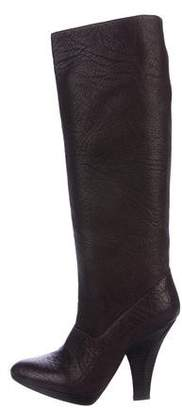Zac Posen Leather Knee-High Boots