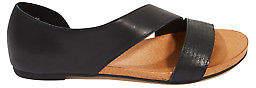 Django & Juliette NEW Womens Flats Jerris Leather Flat Sandal - Shoes