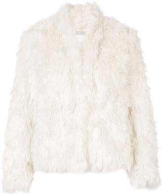 Vince faux-fur jacket