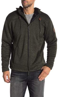 Free Country Mountain Fleece Lined Zip-Up Hoodie